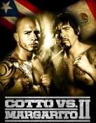 Miguel Cotto vs. Antonio Margarito II HD Blu-Ray