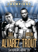 Canelo Alvarez vs. Austin Trout HD Blu-Ray