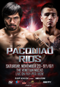 Manny Pacquiao vs. Brandon Rios HD Blu-Ray