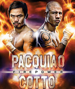 Manny Pacquiao vs. Miguel Cotto HD Blu-Ray