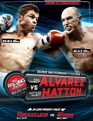 Canelo Alvarez vs. Matthew Hatton HD Blu-Ray