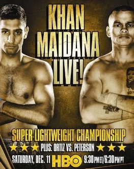 Amir Khan vs. Marcos Maidana HD Blu-Ray