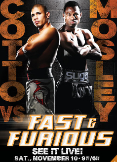 Miguel Cotto vs. Shane Mosley HD Blu-Ray