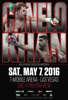Canelo Alvarez vs. Amir Khan HD Blu-Ray