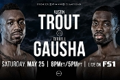 Austin Trout vs. Terrell Gausha HD Blu-Ray