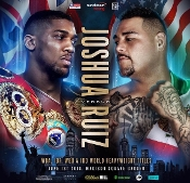 Anthony Joshua vs. Andy Ruiz Jr. HD Blu-Ray