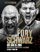 Tyson Fury vs. Tom Schwarz HD Blu-Ray